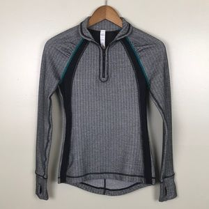 AE American Eagle Athletic Mesh 1/4 Zip Pullover